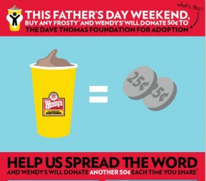 TreatitFwd, Father's Day, Adoption, Dave Thomas, Foundation for Adoption, DTFA