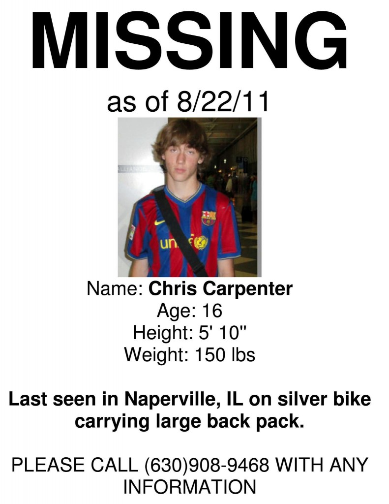 Naperville, IL, Missing Boy