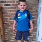 Wordless Wednesday: First Day of First Grade
