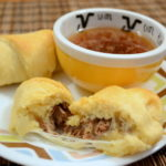 French Dip Crescent Rolls #Recipe
