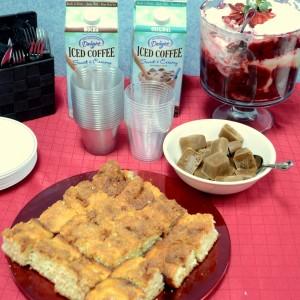 International Delight, Coffee Klatch, Social Fabric, Collective Bias, iced coffee, vanilla, original, mocha, coffee cake, trifle