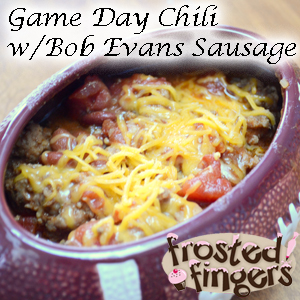 Game Day, Super Bowl, Bob Evans, Sausage, recipe