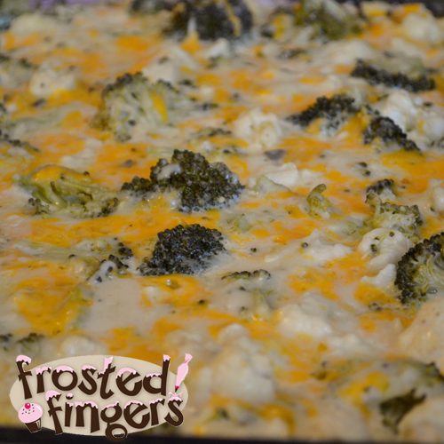 Broccoli and Cauliflower Casserole #Recipe