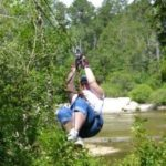 Ziplining and Tubing at Adventures Unlimited #GulfCoast #Brandcation @adventursunltd