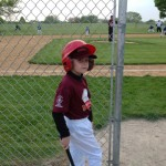 Wordless Wednesday: Tball player