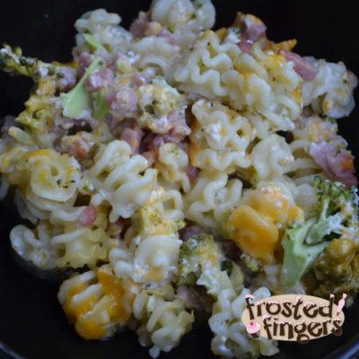 Ham and Cheese Casserole #Recipe #VZWSG #Samp