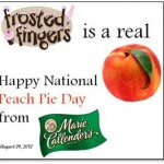 Happy National Peach Pie Day!