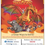 Ringling Bros. and Barnum & Bailey® Presents DRAGONS #Giveaway #ChiRingling