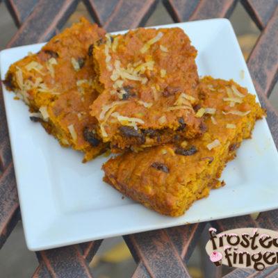 Oatmeal Pumpkin Bars Recipe #YayOats