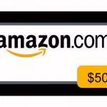 $50 Amazon #Giveaway