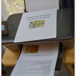 HP Deskjet  3052A Wireless e-All-In-One Printer #Review #HPFallFun