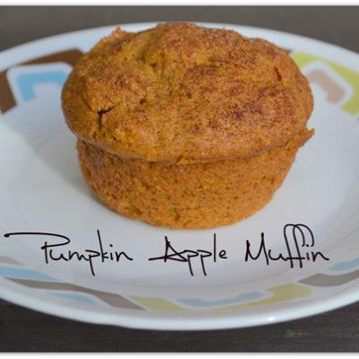 Pumpkin Apple Muffins #Recipe