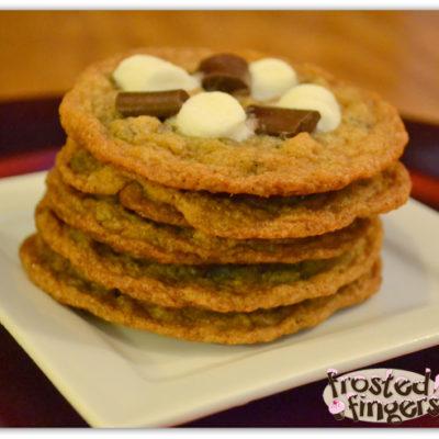 S'mores Cookie #Recipe #25DaysofChristmas