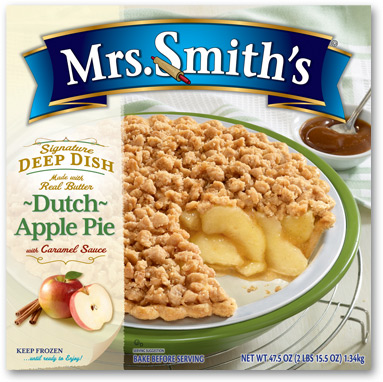 Mrs. Smith's Signature Deep Dish Pie + #Giveaway