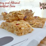 Oatmeal and Cranberry Breakfast Bars with Almonds and Review