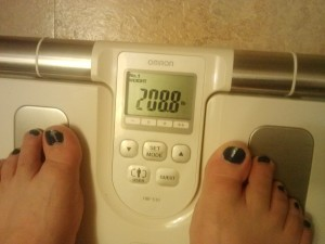 Weigh In Jan 27