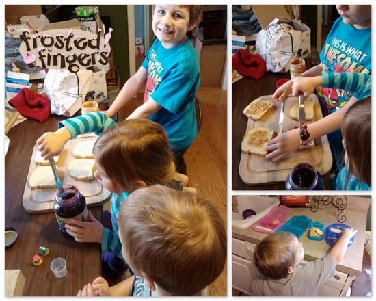 Making Lunches #KidsintheKitchen