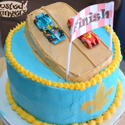 Wordless Wednesday: Cub Scout Cake Auction Pinewood Derby Cake