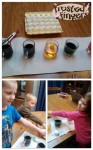 Kids in the Kitchen: Making cracked dyed deviled eggs