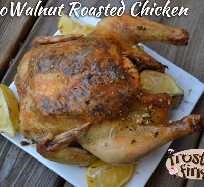Paleo Walnut Roasted Chicken Recipe and Book Review