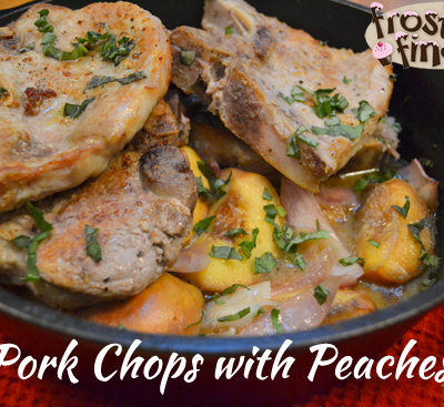 Pork Chops with Quinoa and Peaches Recipe