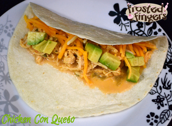 Chicken con Queso Slow Cooker Recipe #AmazingAvoCinco