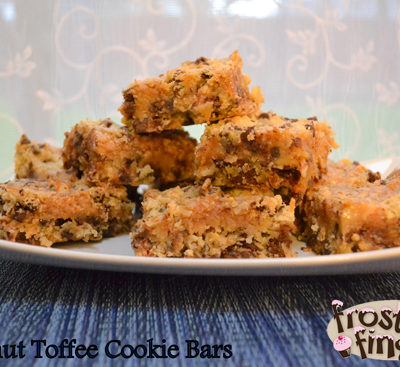 Coconut Toffee Cookie Bars Recipe (Gluten Free)
