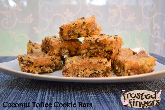 Gluten Free Coconut Cookie Bars