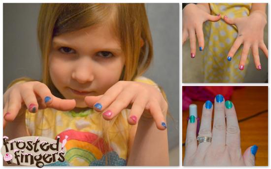 Piggy Paint Nails