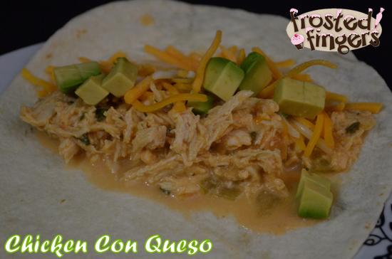 Slow Cooker Chicken Con Queso #AmazingAvoCinco