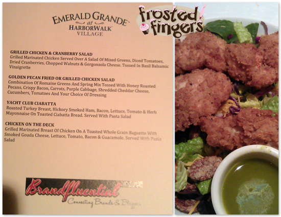 Lunch at Emerald Grande