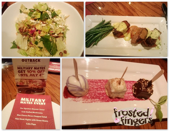 Outback Lunch #MilitaryMates