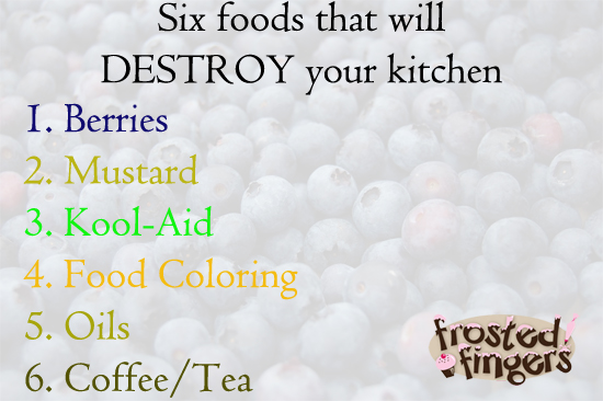Six Foods to Destroy Your Kitchen