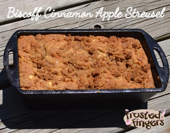 Biscoff Cinnamon Apple Streusel