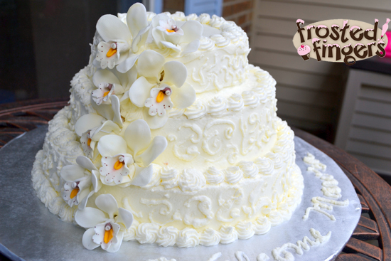 Wordless Wednesday Baby Shower Cake Frosted Fingers Baking