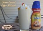 Caramel Churro Coffee Milkshake Recipe featuring International Delight