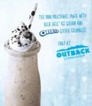 Free Oreo Milkshake from Outback!