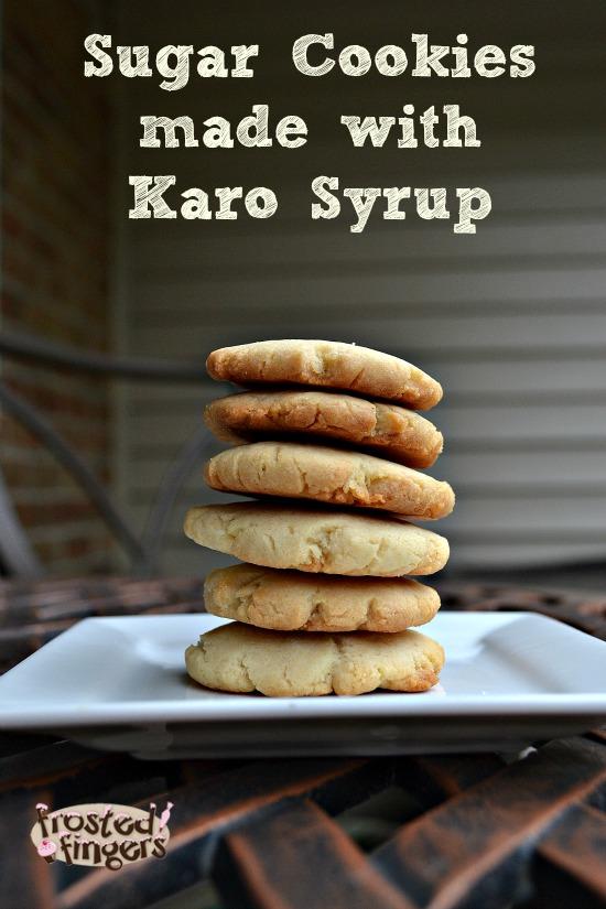 Karo Syrup Sugar Cookies