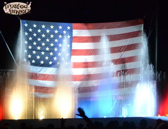 Tommy Bartlett American Flag
