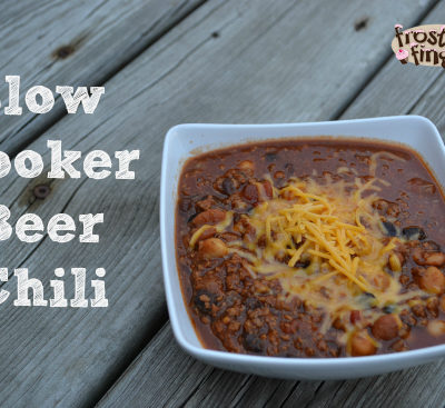 Slow Cooker Beer Chili Recipe