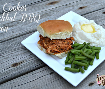 Slow Cooker Shredded BBQ Chicken Recipe