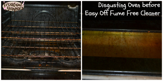 My Oven Was Disgusting Seriously I Decided D Give Easy Off Fume Free Cleaner A Try In There Are Two Choices That You Can
