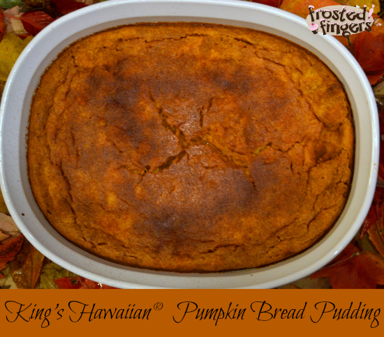 Hawaiian Bread Pumpkin Bread Pudding
