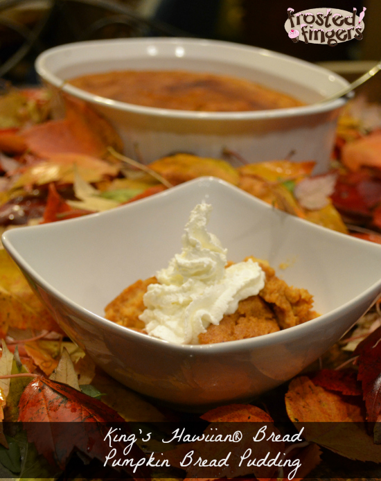 King's Hawaiian® Pumpkin Bread Pudding Recipe