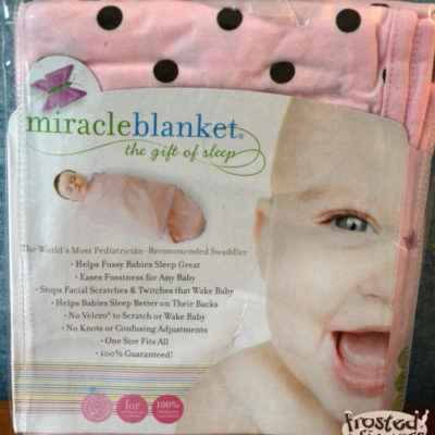 Miracle Blanket Review and Giveaway