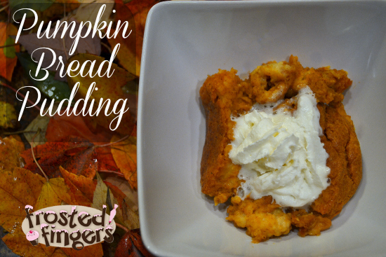 King's Hawaiian Pumpkin Bread Pudding