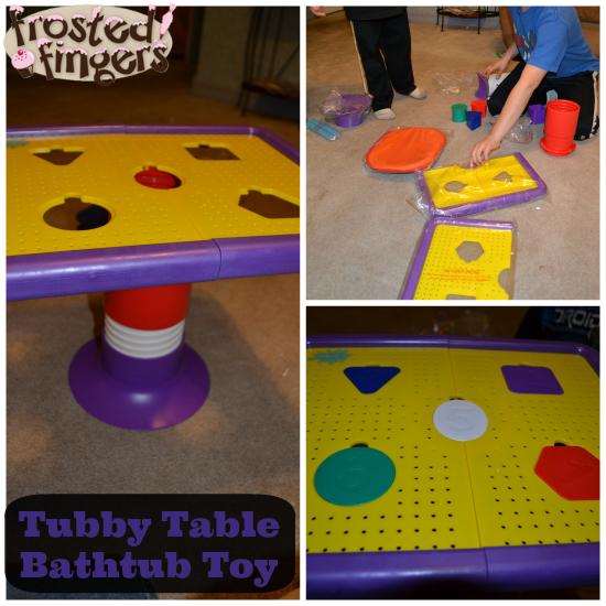 Tubby Table Bathtub Toy