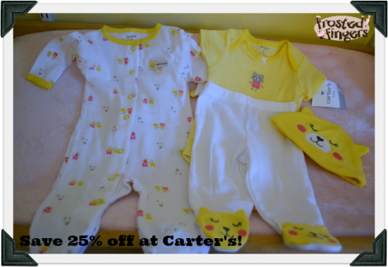 25 off at Carters