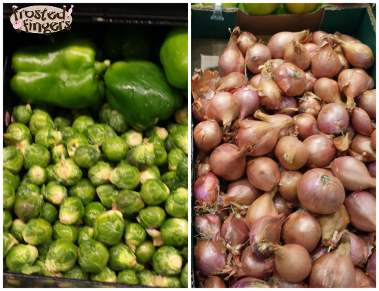 Brussels Sprouts and Shallots at #MyMarianos #Shop