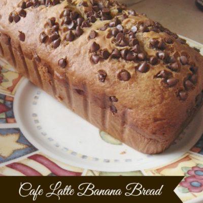 Kids in the Kitchen: Cafe Latte Banana Bread